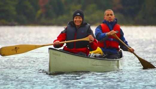 self guided canoe trips canada