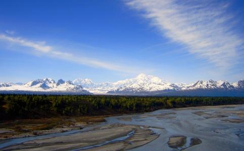 Denali State Park - views of the Alaska Range