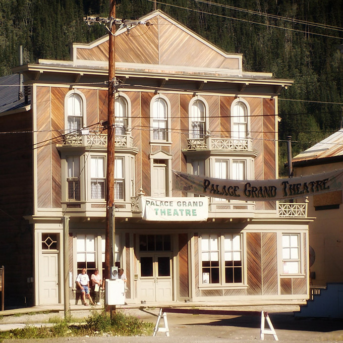Palace Grand Theatre, Dawson City, Yukon