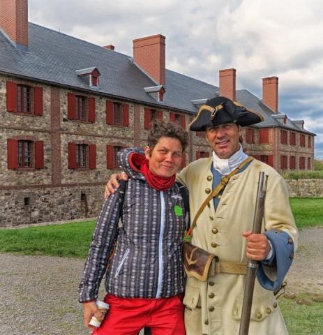 Fortress of Louisbourg , Nova Scotia