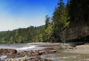 Mystic Beach trail, Juan de Fuca