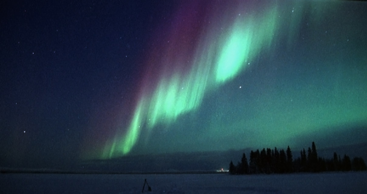 Labrador is one of those winter destinations that offers rare sights, including the Northern lights.