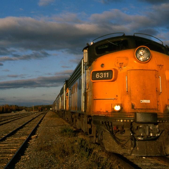 Hudson Bay Express, Manitoba