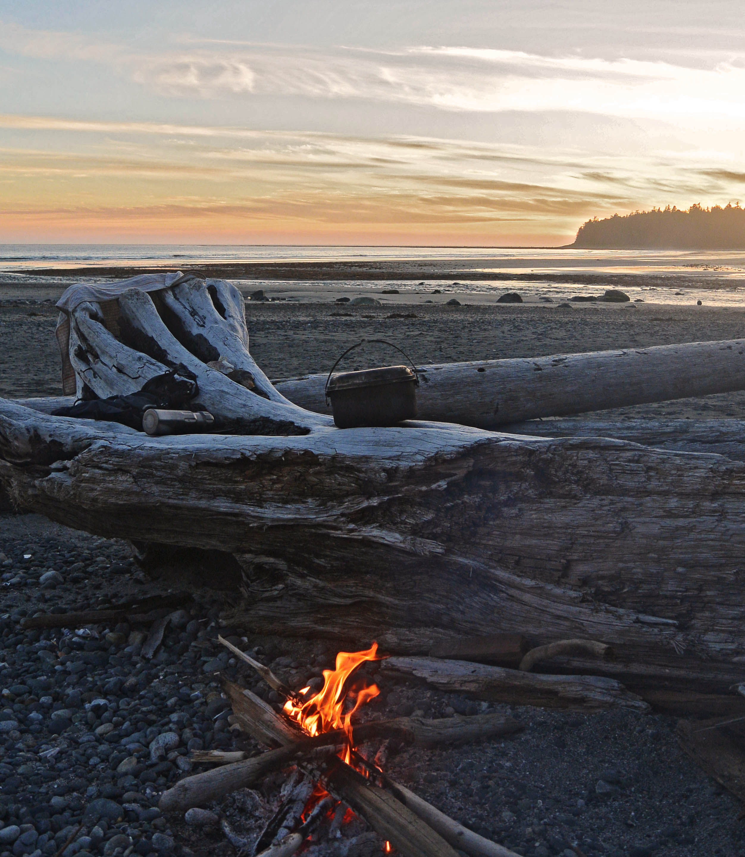 Nootka beach campfire - Bunschoten 2018