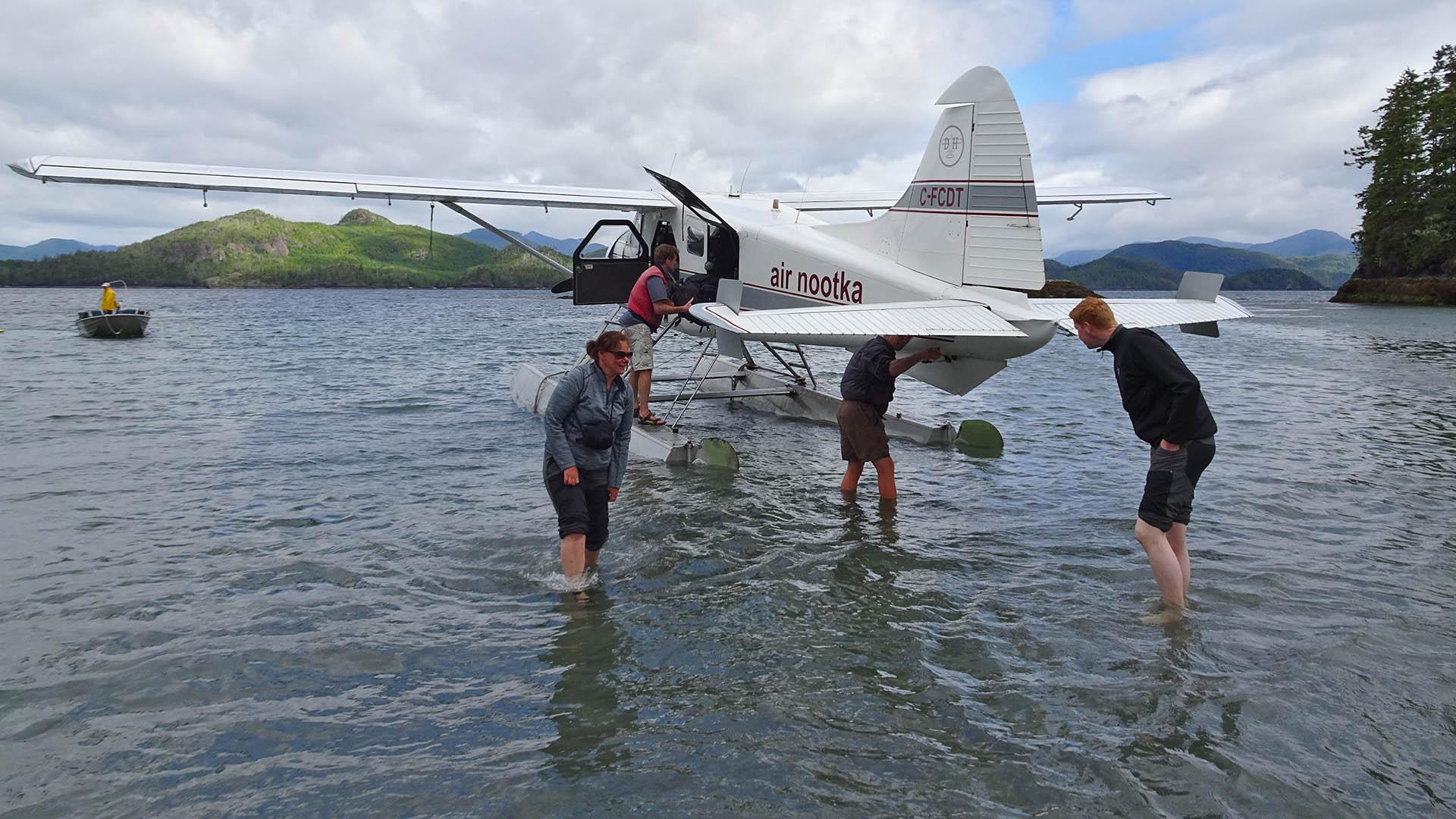 Nootka Island landing - Zonder 2018