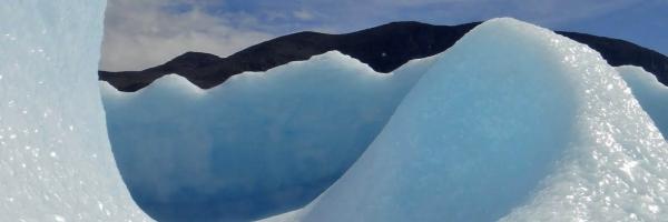 Iceberg close-up on the Labrador coast