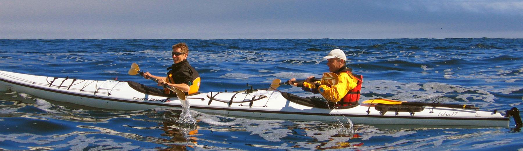 Double kayak, double the fun