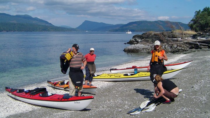 Salt Spring Island kayaking with Nature Trek Canada