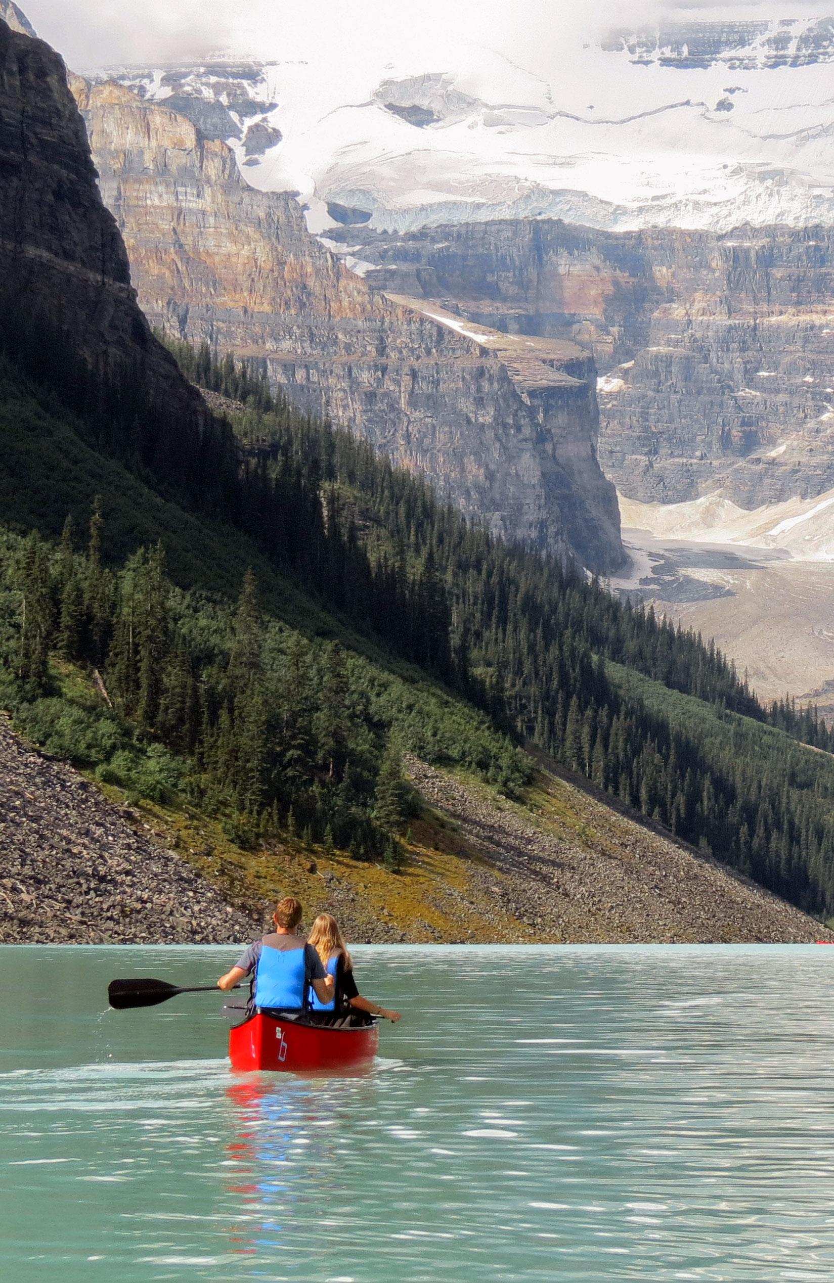 Lake Louise paddle, Banff NP (Alberta)