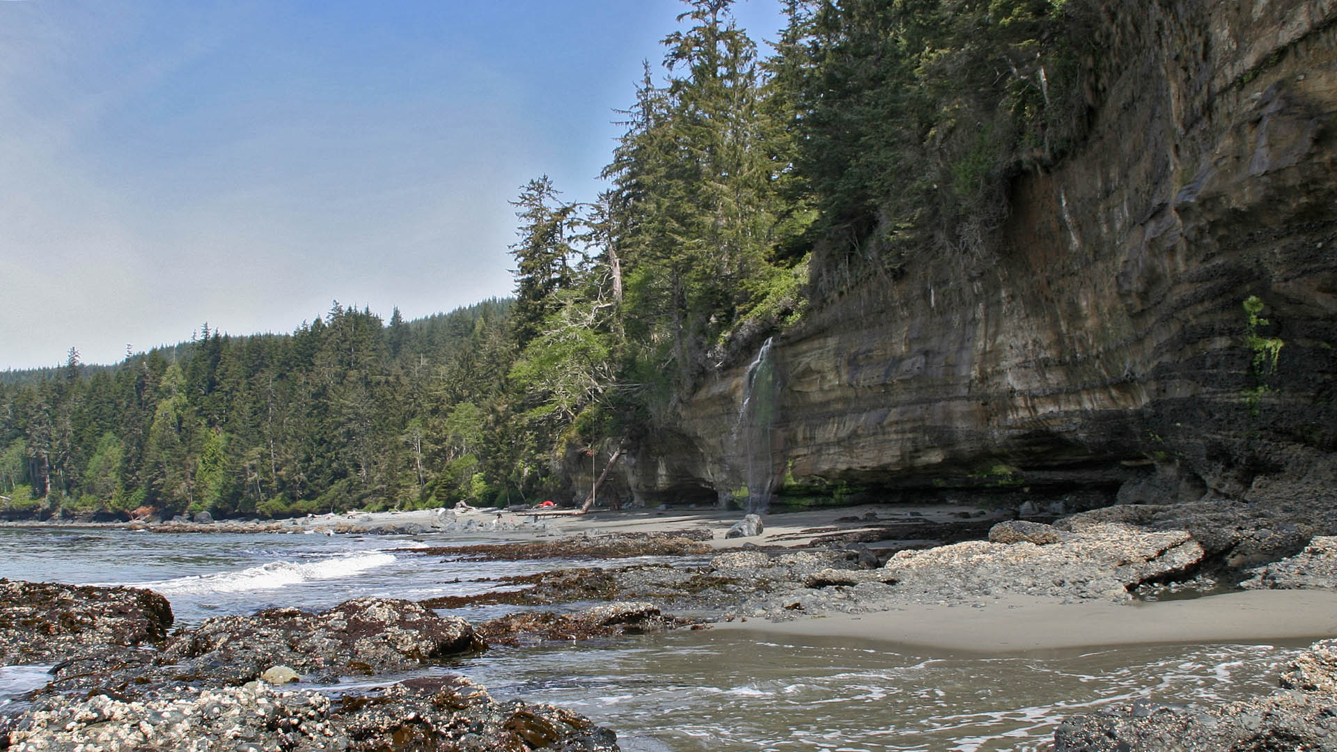 Mystic Beach, Juan de Fuca - Photo: Raijmakers