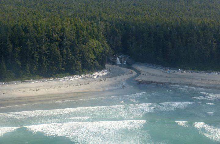 Nootka Island beach