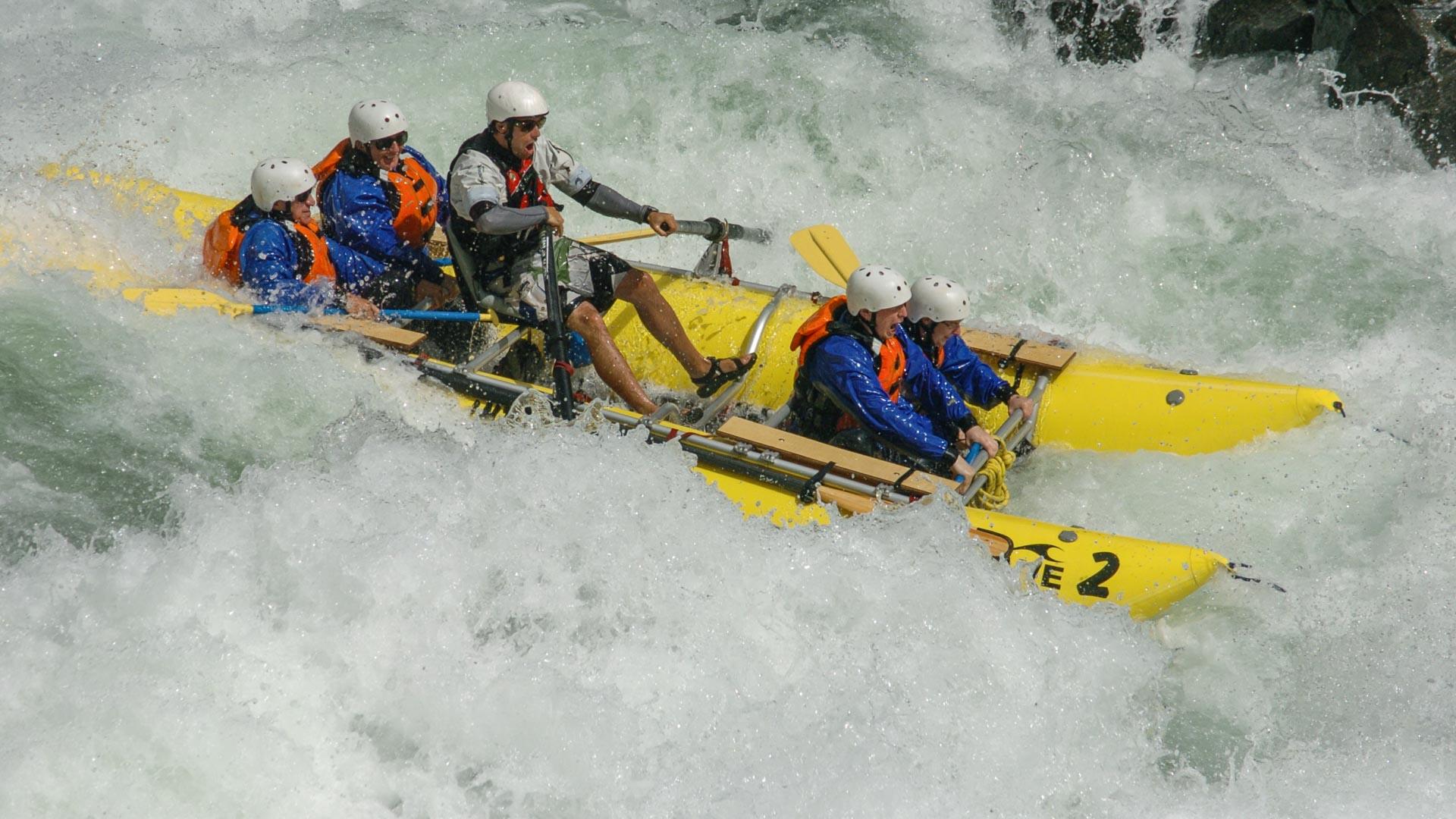 Rafting thrills in BC