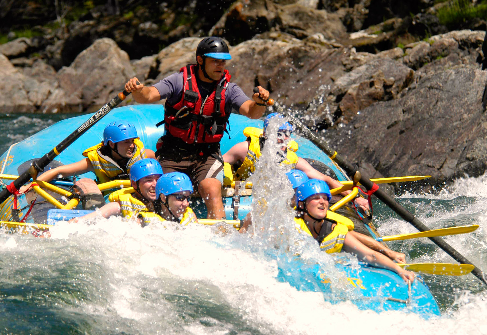 Clearwater rafting (BC)