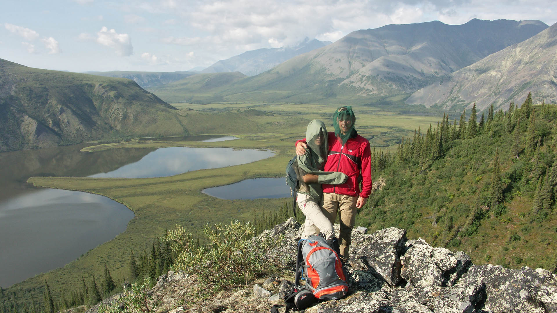 Northern Yukon hike