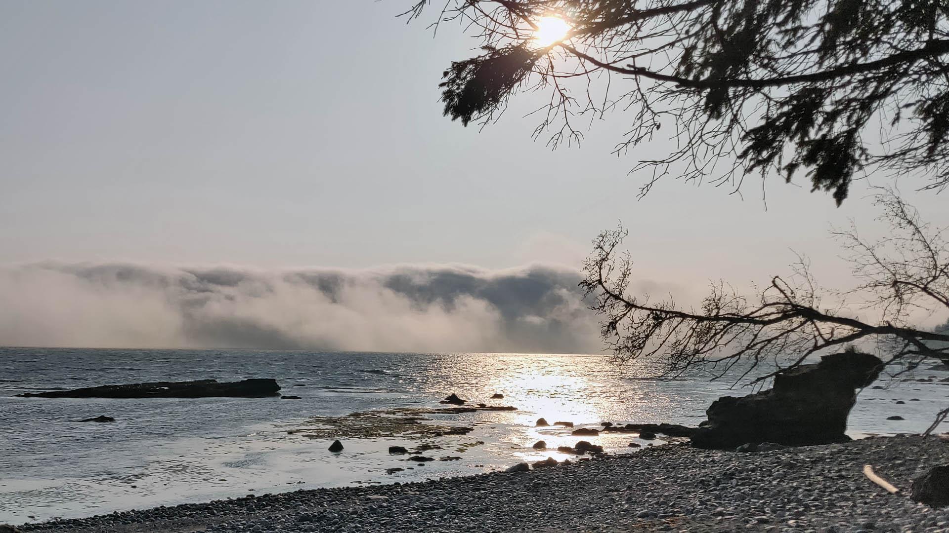 Rolling Fog in Juan de Fuca Strait - Hans van Bonthuis 2018