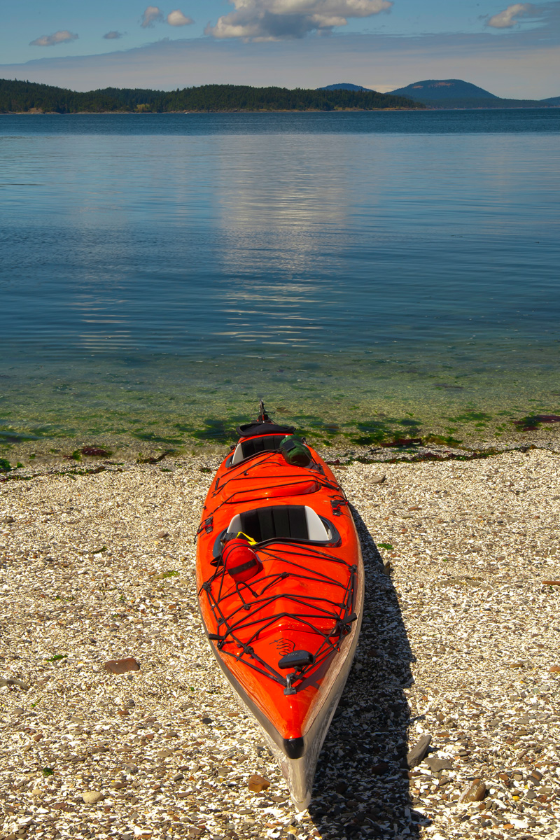 Sea kayak, Gulf Islands National Park