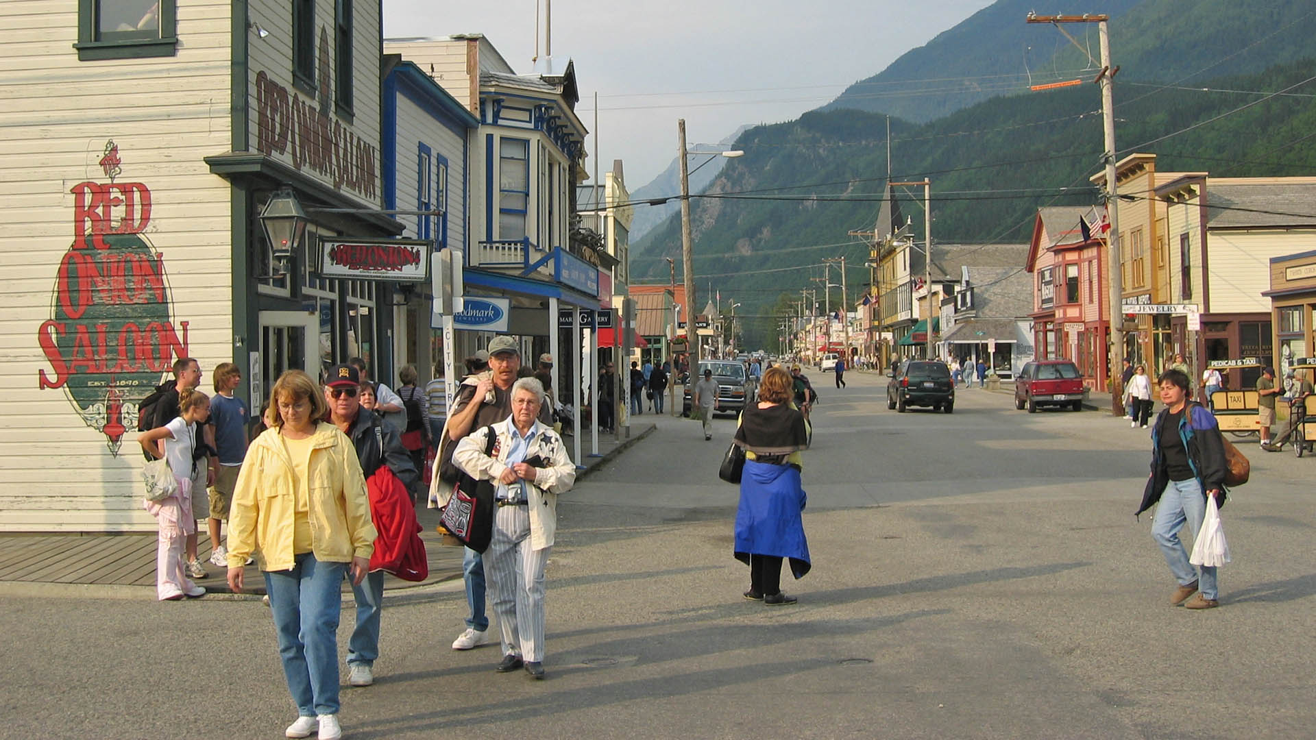 Downtown Skagway, AK