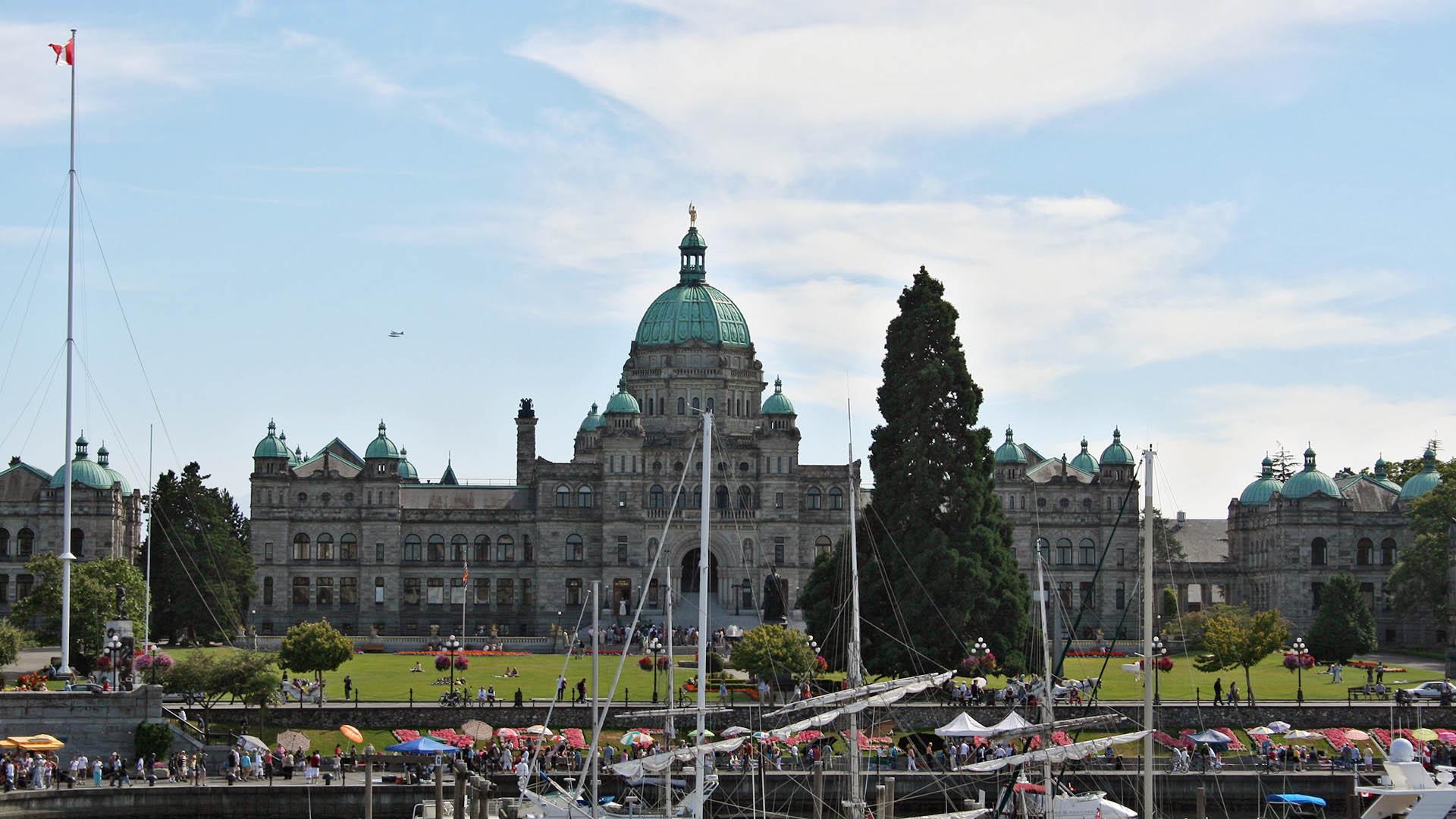 Parliament Building, Victoria, BC - VD Leemput
