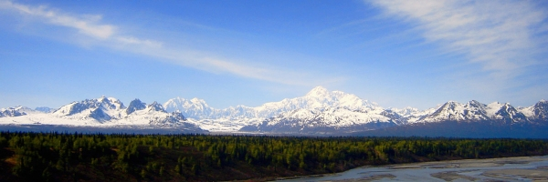 Denali State Park - views of the Alaska Range
