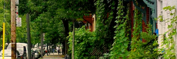 Avenue Laval in Montreal, Quebec
