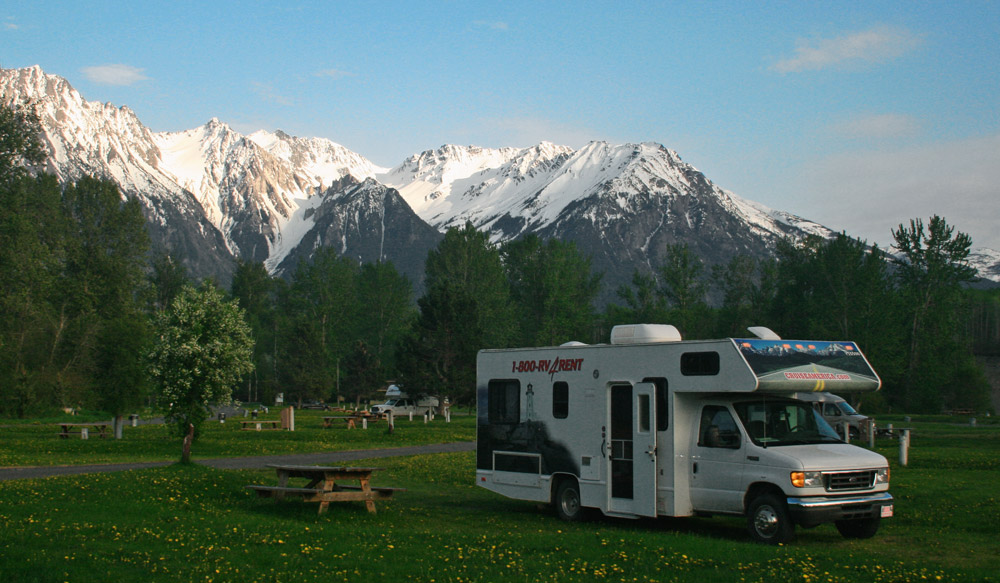 Home, sweet motorhome in BC