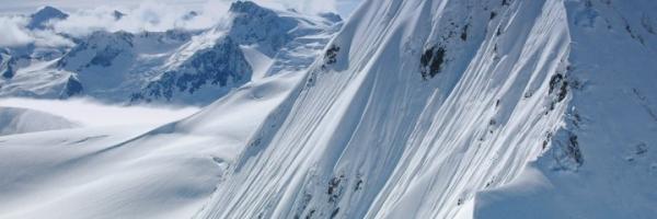 Glacier flight, Alaska