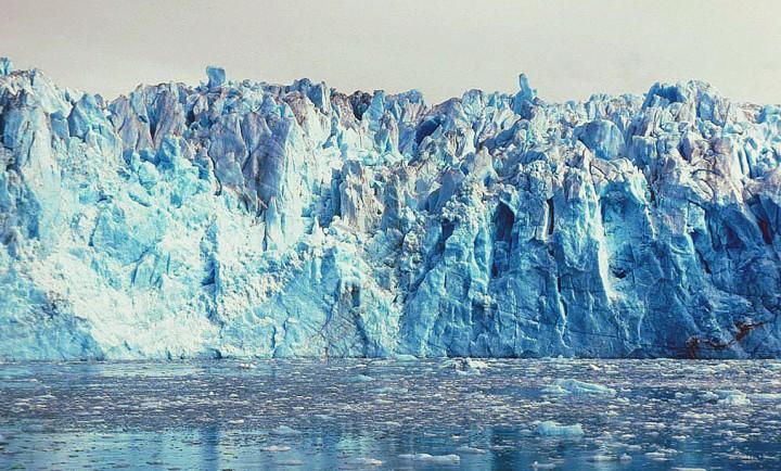 Columbia Glacier in Prince William Sound