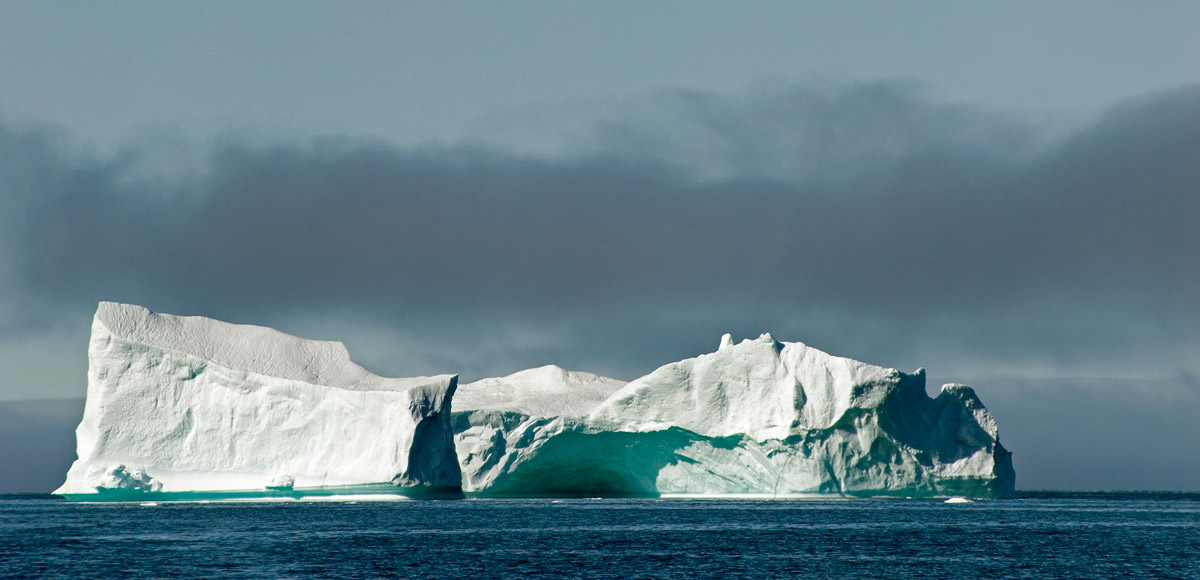 Iceberg alley, the Labrador current
