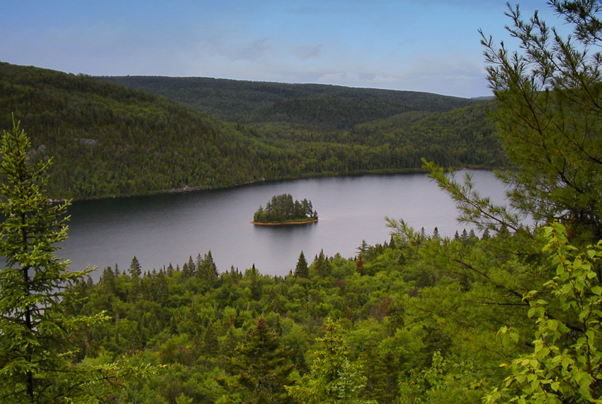 Lake Wapizagonke, Mauricie National Park (Quebec)