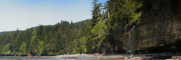 A classic hike along the southern coast of Vancouver Island. Photo: Marijn Raijmakers
