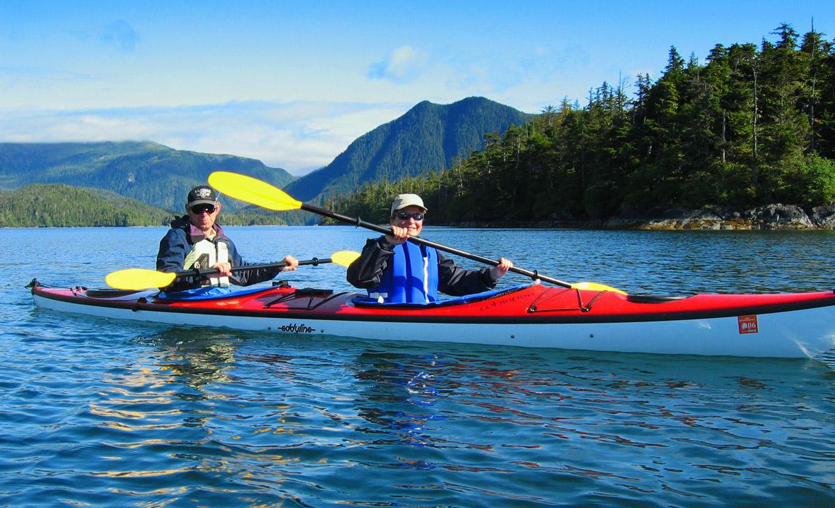 Kayaking in Sitka Sound, Alaska