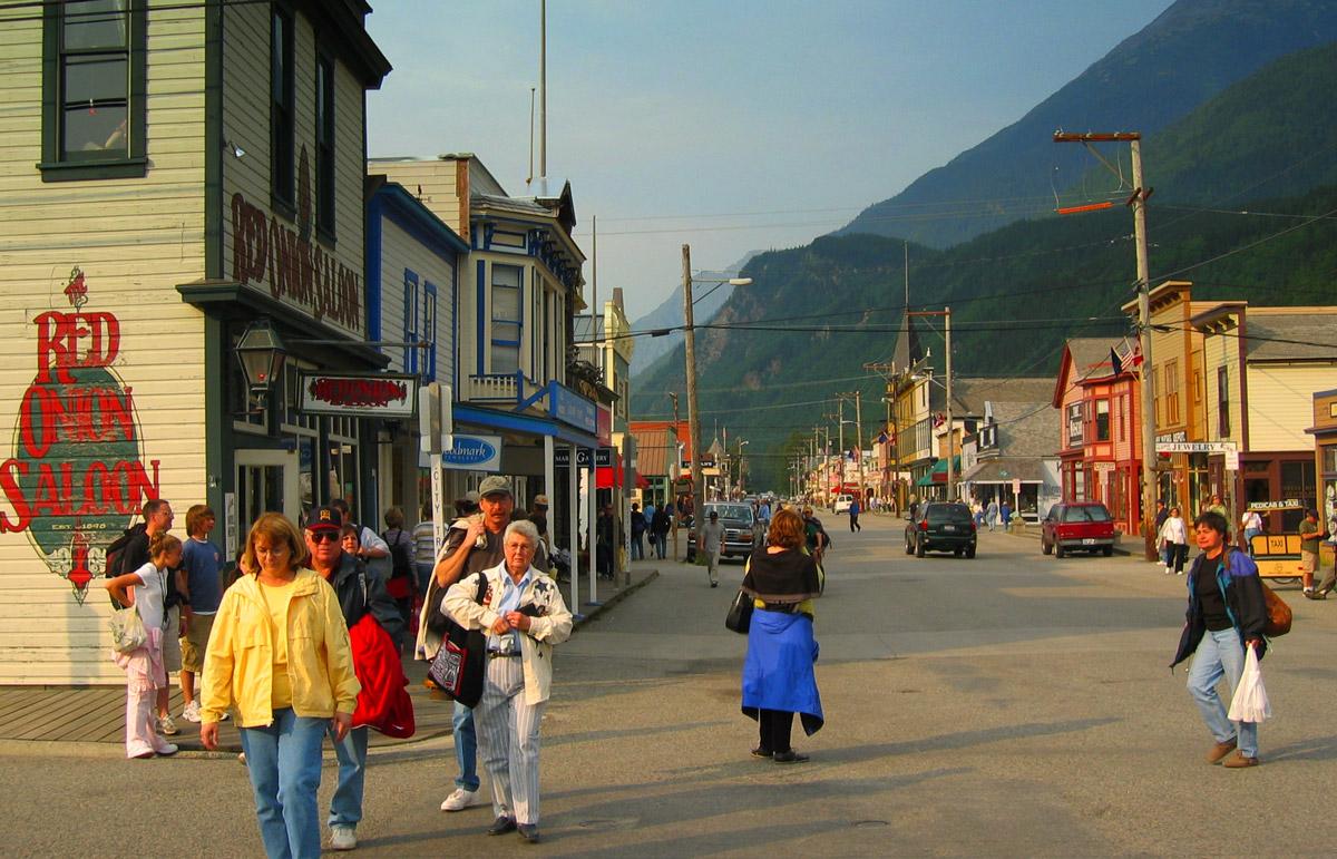 Downtown Skagway, AK
