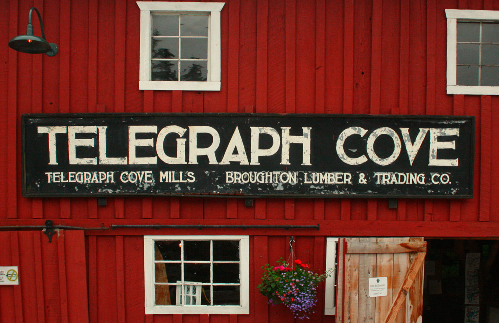 Telegraph Cove on the shores of Johnstone Straits