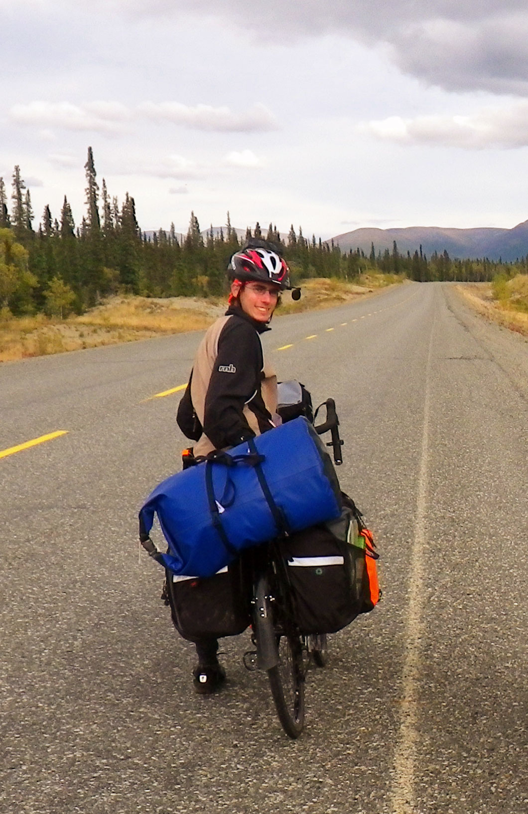 Biking up the Alaska Highway, Yukon