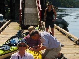Kayaking with NTC